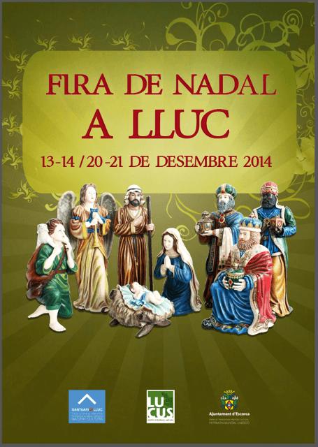 På lördag och söndag (20-21 december) är det julmarknad uppe vid Lluc