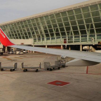 Flygtrafiken på Mallorca – november