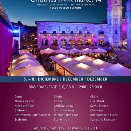 Julmarknaden i Pueblo Español i Palma