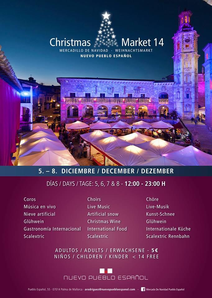 Nu i helgen (5-8 december) är det dags för årets julmarknad i Pueblo español