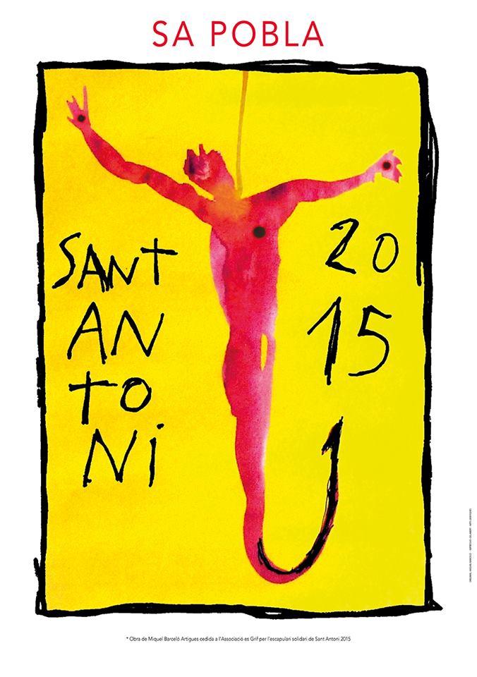 Nu på fredag kväll (16 januari) är det dags för Sant Antoni-firandet i Sa Pobla
