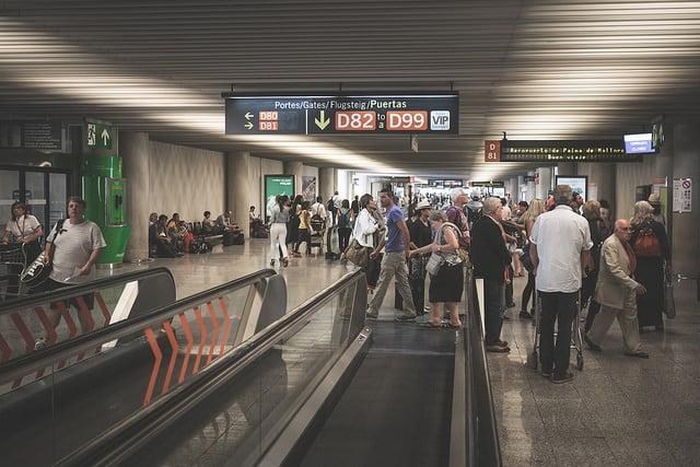 I december landade eller lyfte 629.817 flygresenärer på Mallorca - en ökning med 6,1 procent