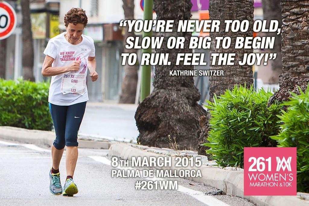 På den Internationella kvinnodagen (8 mars) anordnas det maraton för damer i Palma