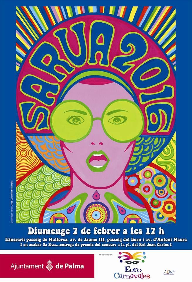 Nu i helgen (7-8 februari ) är det dags för karneval i Palma