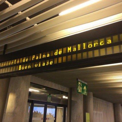 Flygtrafiken på Mallorca – januari