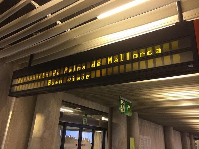 I januari landade eller lyfte 564.900 flygresenärer på Mallorca - en ökning med 2,6 procent