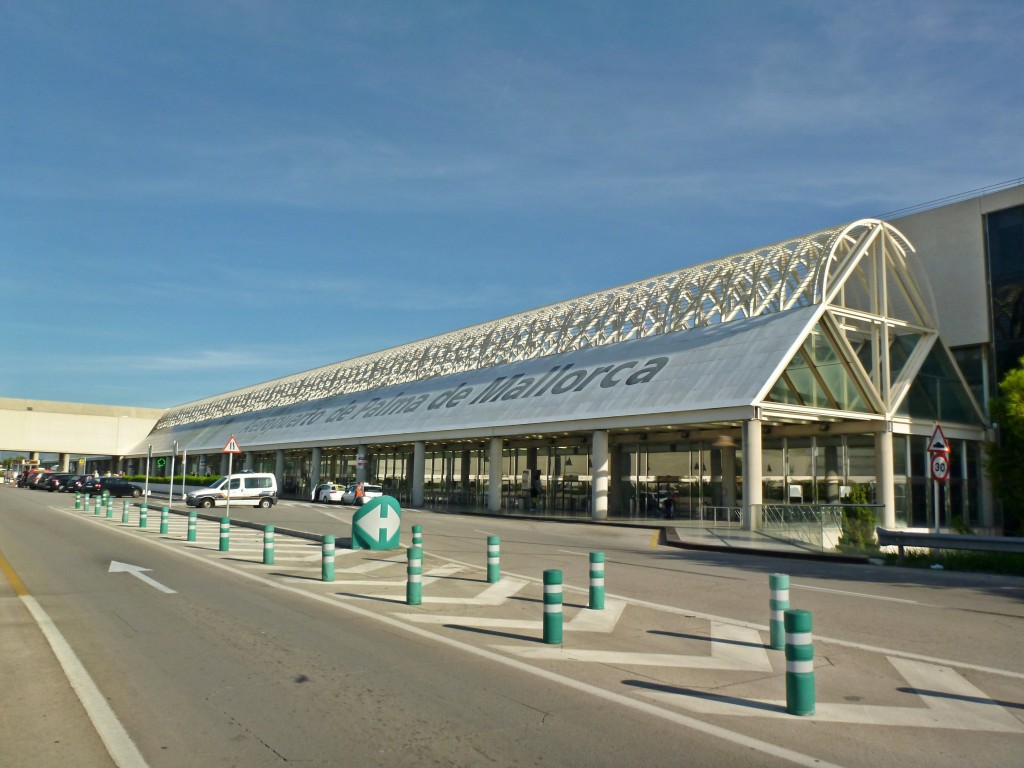 I februari landade eller lyfte 625.652 flygresenärer på Mallorca - en ökning med 6,1 procent