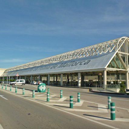 Flygtrafiken på Mallorca – februari