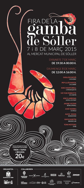 Nu på lördag och söndag (7-8 mars) är det dags för den stora räkfrossan i Sóller!