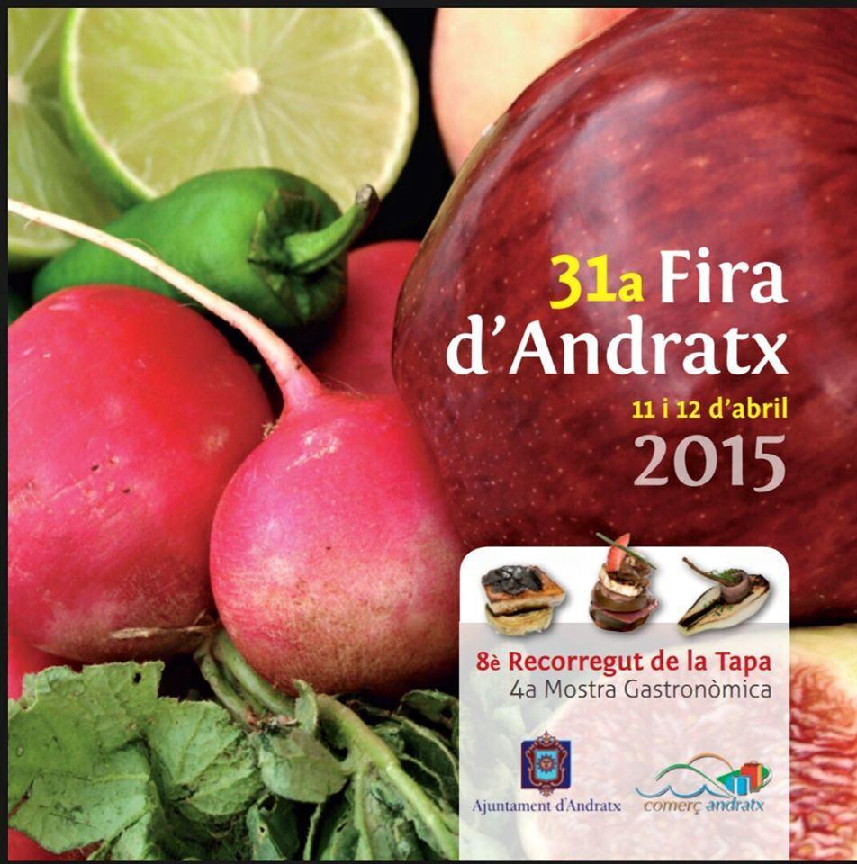 Nu i helgen (11-12 april) är det dags för trevliga och välbesökta Fira d'Andratx