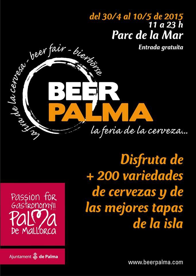 Nu är det dags för Beer Palma igen - man håller till nedanför katedralen