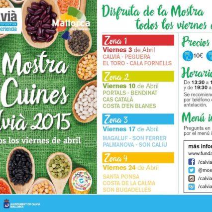 Mostra de Cuines i Calvià – hela april