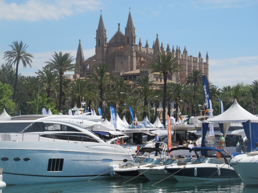 Snart är det dags för Palma Boat Show igen - i år pågår mässan mellan 30 april - 3 maj