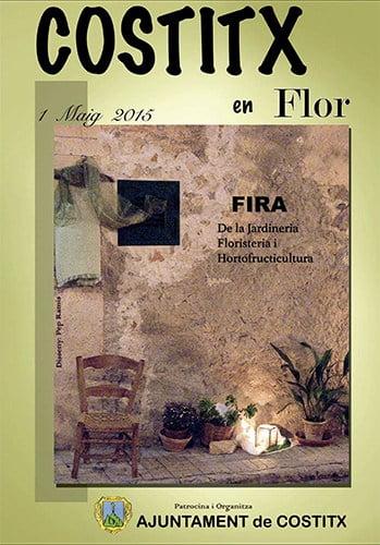Nu i morgon (1 maj) är det dags för Fira Costitx en Flor i vackra Costix
