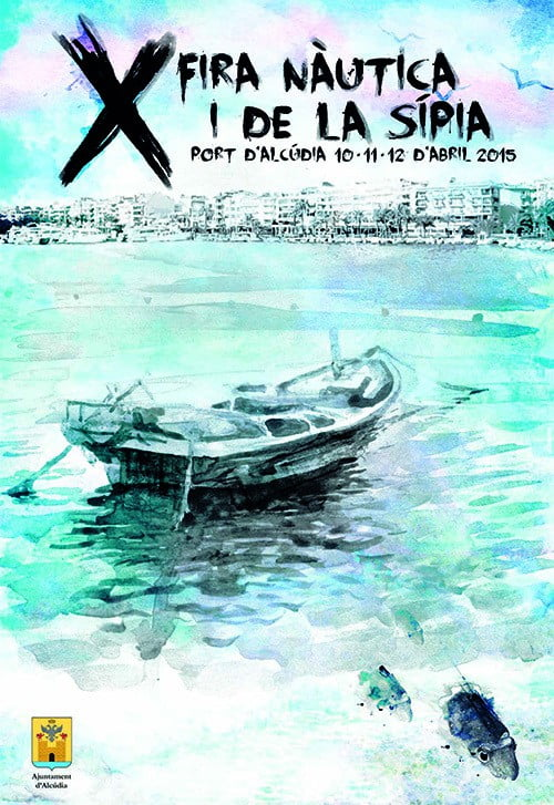Nu är det återigen dags för Fira Nàutica i de la Sípia i Port d'Alcúdia - 10-12 april