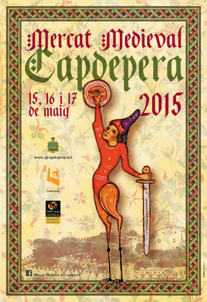 Nu (15-17 maj) är det dags för den populära medeltidsmarknaden i Capdepera