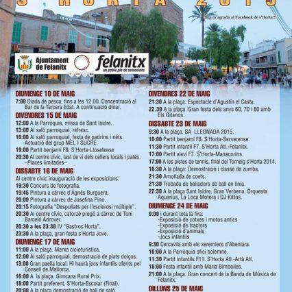 Fira de s'Horta i Felanitx – 24 maj