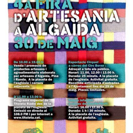 Fira d'Artesania i Algaida på lördag