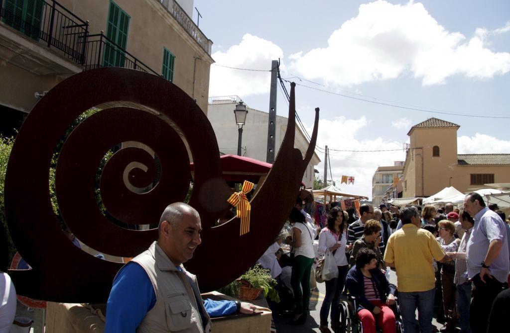 I helgen (16-17 maj) är det dags för Fira del Caragol i Sant Jordi precis utanför Palma