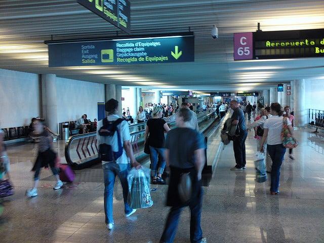 I april landade eller lyfte 1.741.570 flygresenärer på Mallorca - en ökning med 2,3 procent