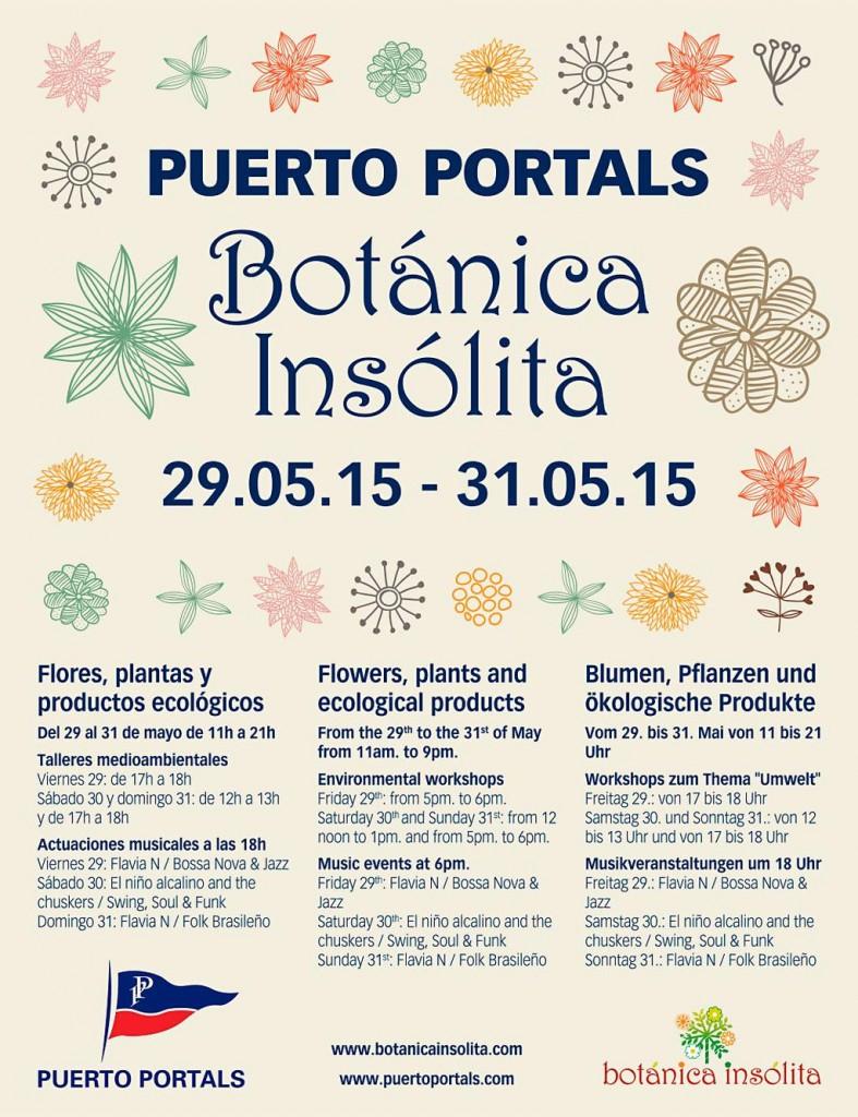 Nu i helgen (29-31 maj) är det blomstermarknad i charmiga Puerto Portals