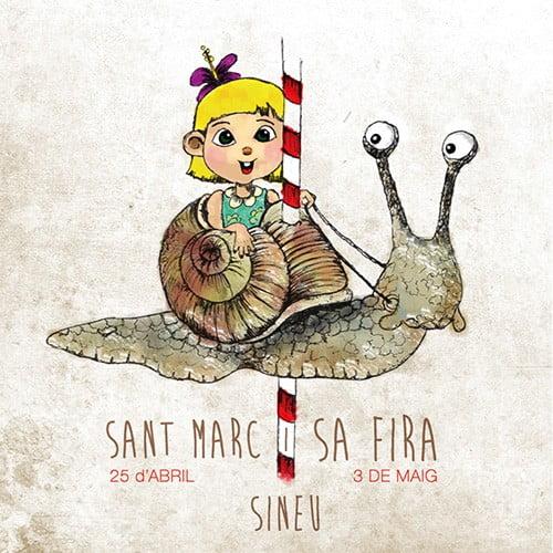 Nu på söndag (3 maj) är det dags för trevliga Sa Fira i vackra Sineu