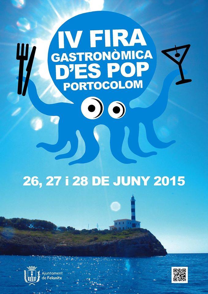 På fredag, lördag och söndag (26-28 juni) är det bläckfiskfestival i Portocolom
