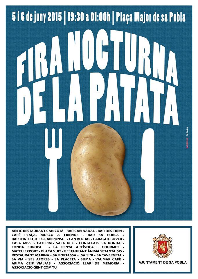 Nu på fredag och lördag kväll (5-6 juni) äter man nypotatis i charmiga Sa Pobla