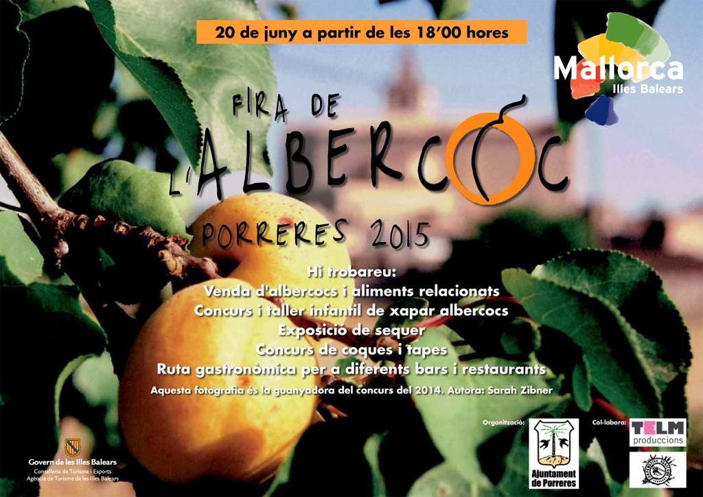 """Nu på lördag (20 juni) kl. 18.00 är det dags för """"Fira de l'Albercoc"""" - aprikoser i mängder!"""