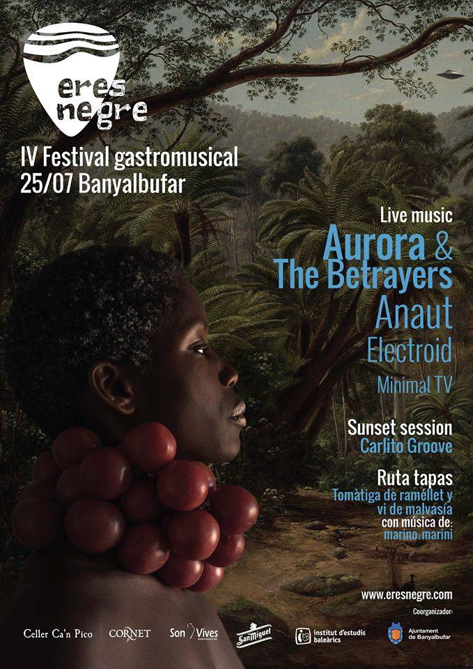 På lördag (25 juli) är det full fart i Banyalbufar - IV Festival gastromusical
