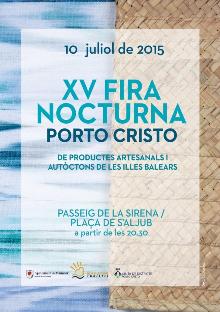 Nu på fredag kväll (10 juli) är det dags för XV Fira Nocturna i charmiga Porto Cristo