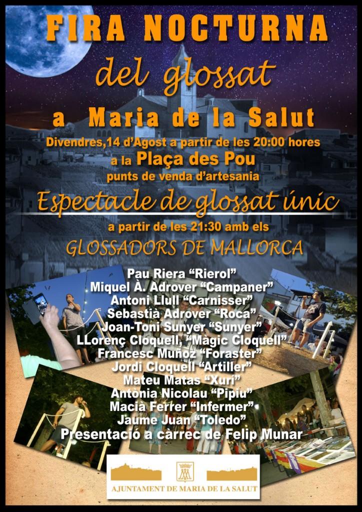 I kväll (14 augusti) är det dags för trevliga Fira Nocturna i Maria de la Salut