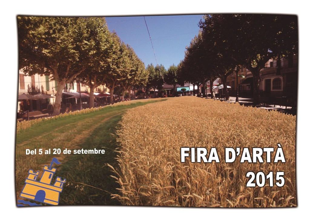 I helgen (13 september) är det dags för Fira d'Artà - trevlig höstmarknad