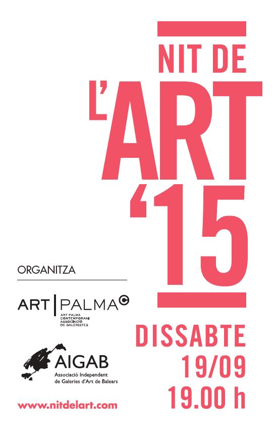 Nu på lördag (19 september) är det dags för La Nit de l'Art i Palma