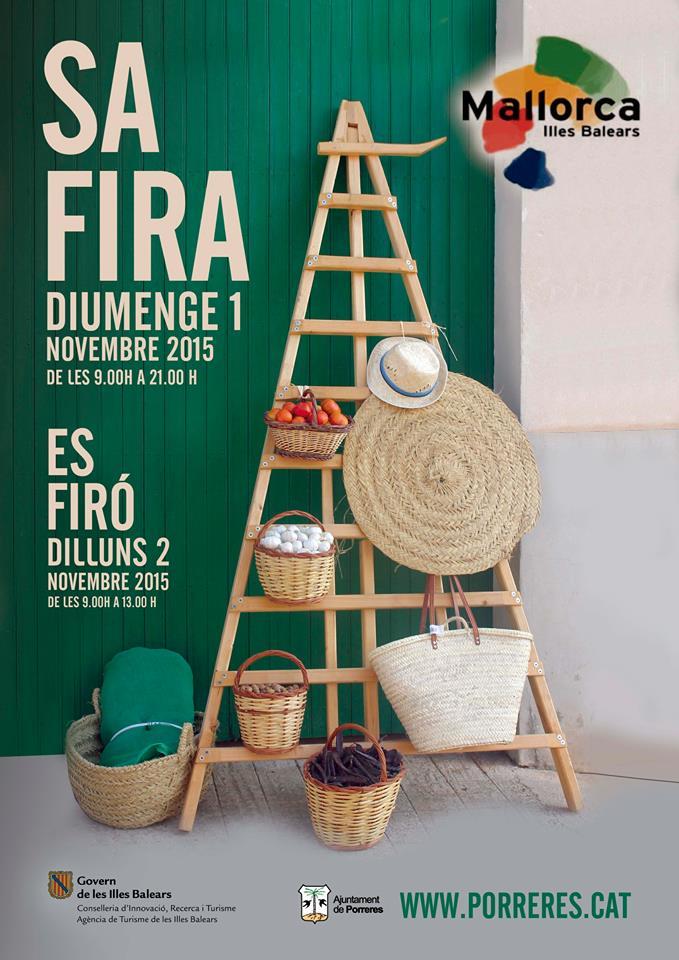 Nu i helgen (1-2 november) är det dags för Fira de Tardor i Porreres