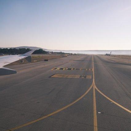 Flygtrafik på Mallorca – september