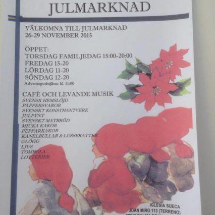Julbasaren i Svenska kyrkan