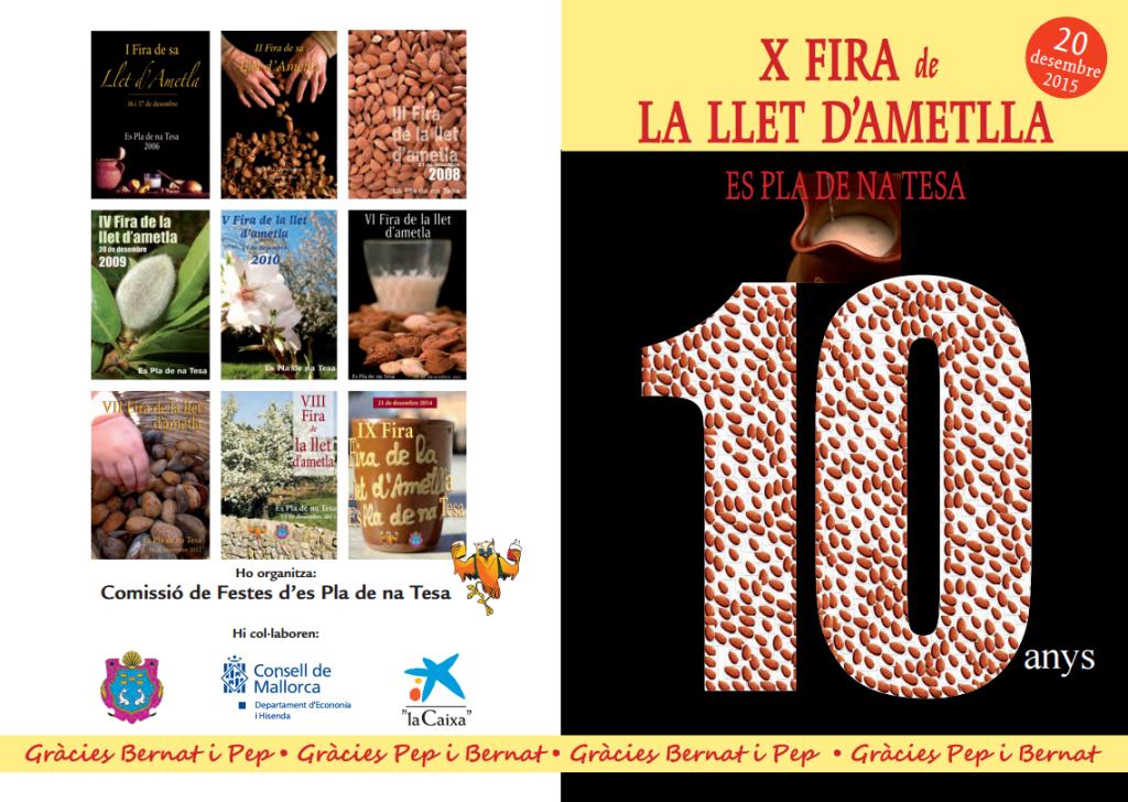 På söndag (20 december) firar man mandelmjölken i Marratxí