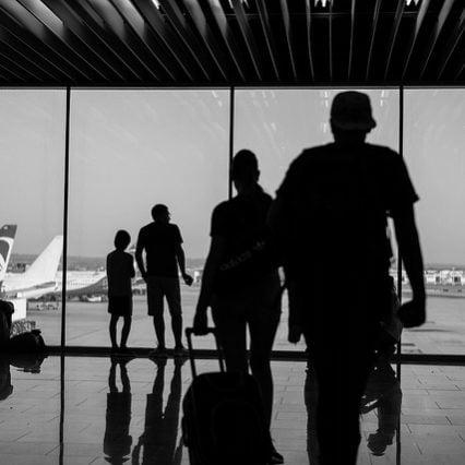 Flygtrafik på Mallorca – november