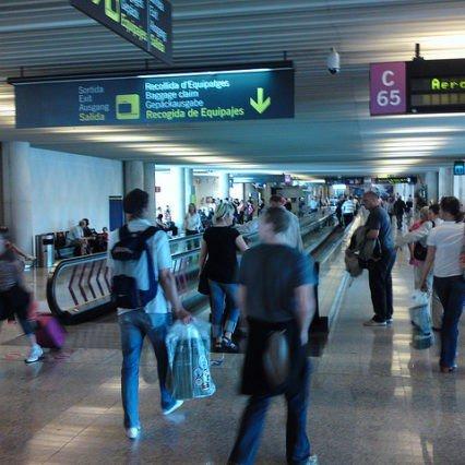 Flygtrafik på Mallorca – december