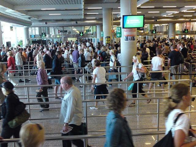 I januari landade eller lyfte 613.548 flygresenärer på Mallorca - upp 8,6%