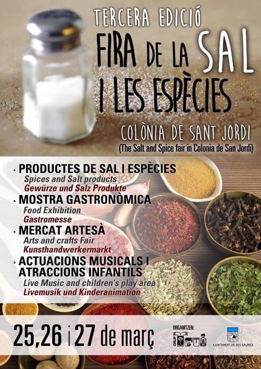 Nu i helgen (25-27 mars) är det marknad i Colònia Sant Jordi