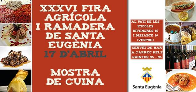 Fira Agrícola i Ramadera i Santa Eugènia - nu på söndag