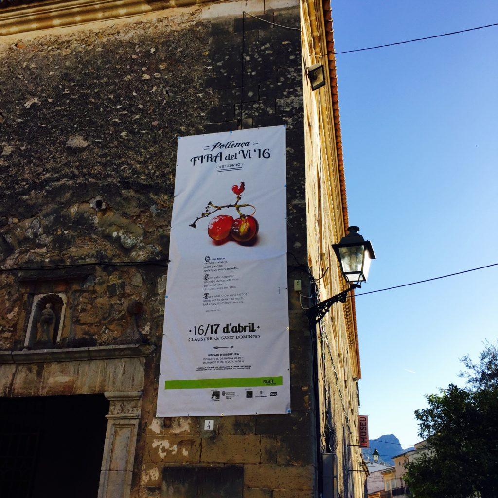 Nu i helgen (16-17 april) är det vinfestival i Pollença