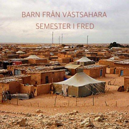 Barn från Västsahara-semester i fred