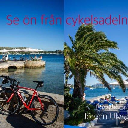 Se ön från cykelsadeln