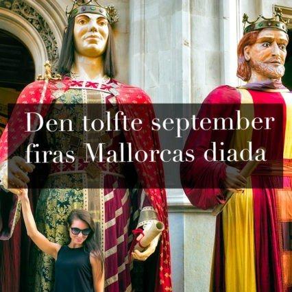 Den tolfte september firas Mallorcas diada