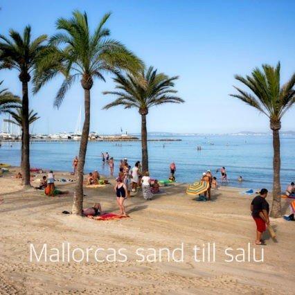 Mallorcas sand till salu
