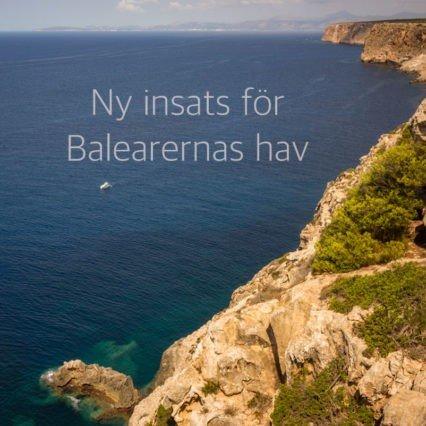Ny insats för Balearernas hav