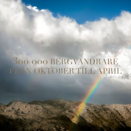 300 000 vandrare från oktober till april
